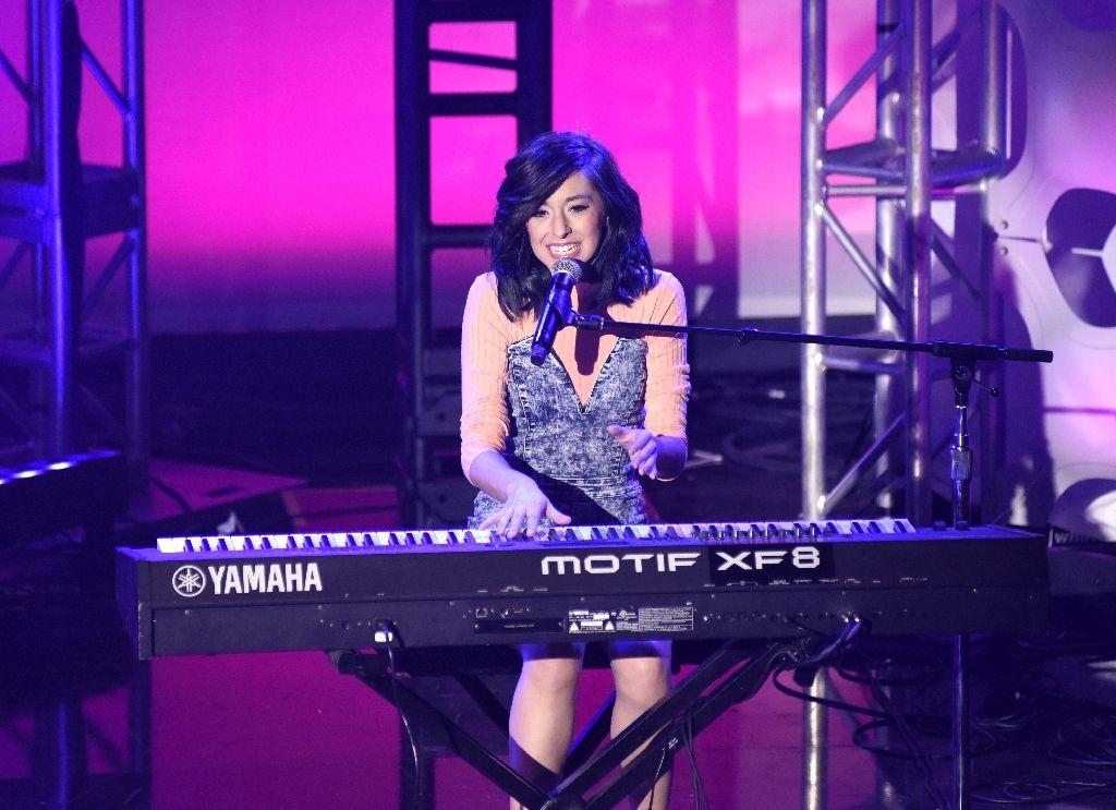 cantora do the voice americano