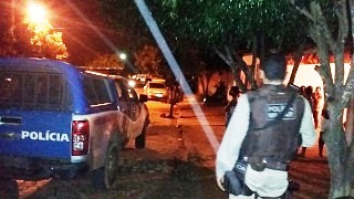 Polícia trabalha para prender o assassino