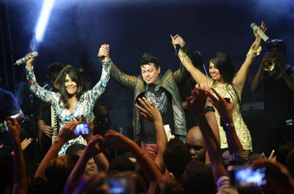 Gigantes do Brasil é uma banda nova formada por três vocalistas de muita bagagem