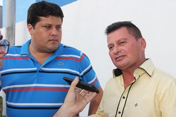 Eleição passada Ireno estava em palanque oposto a de doutor Luciano