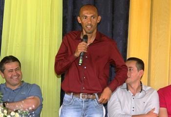 Josevaldo fez uma promessa de não decepcionar a população e nem o seu Deus