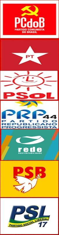 partidos de apoio a pre-candidatura de silvania