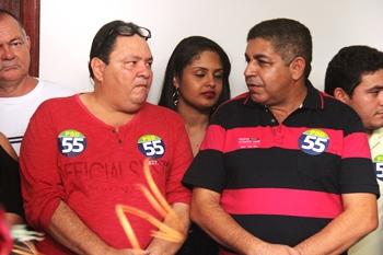 Nelson Moura disse que Rivinha poderá contribuir e muito com a possível gestão dele