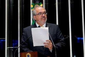 Roberto Muniz assumiu o Senado recentemente ocupado a vaga de Walter Pinheiro