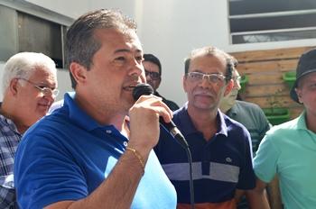 Alex disse que está confiante no sucesso da chapa pelo união de forças que está acontecendo   Foto: Teones Araújo
