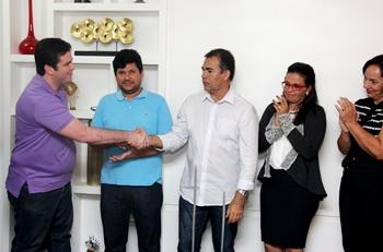 O advogado Agnaldo Junior firmou seu apoio a chapa e confessou ter sido pela boa relação de amizade que tem com Doutor Leonardo