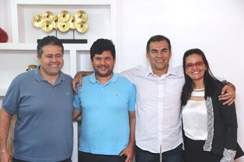 Esquerda para direita: Alex, Leonardo, Assis e Val | Foto: Raimundo Mascarenhas