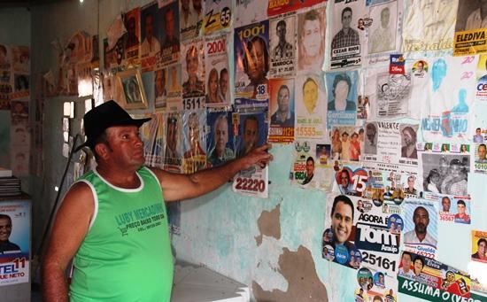 Fernando disse que qualquer político tem espaço caso queira colar sua foto| Foto: Raimundo Mascarenhas