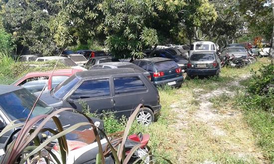 Em breve dias a Ciretran deverá fazer uma limpeza, pois não vai mais absolver veículos principalmente carros | Foto: Raimundo Mascarenhas