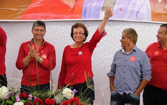Neusa disse que a população sabe que todo progresso de Pintadas foi através do PT