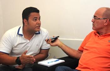 Paulo garante que tem cumprido um governo com toda regularidade possível o que lhe credencia tentar a reeleição | Foto: Raimundo Mascarenhas