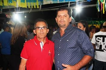 Raulzinho (D) e Vando pretendem continuar o projeto liderado pela prefeita Benvinda e o secretário Laurindo