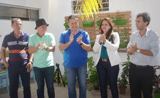 Esquerda para á direita: Catarino, Zé Filho, Alex, Gleide e Francisco