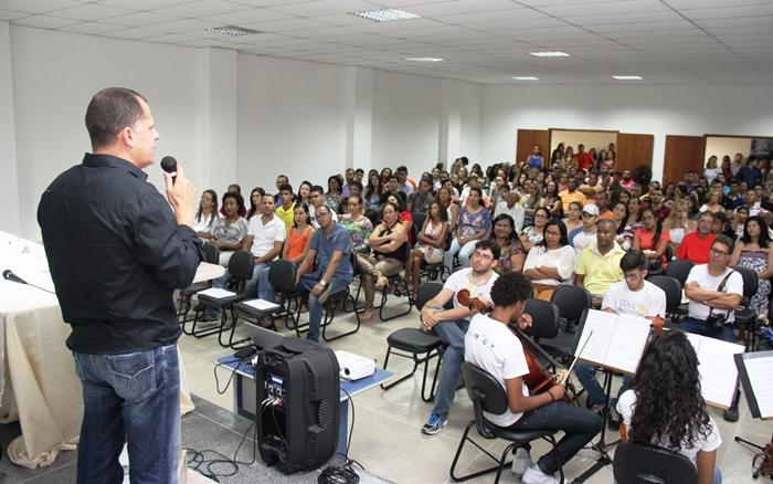 David na abertura da Aula Magna | Foto: Raimundo Mascarenhas