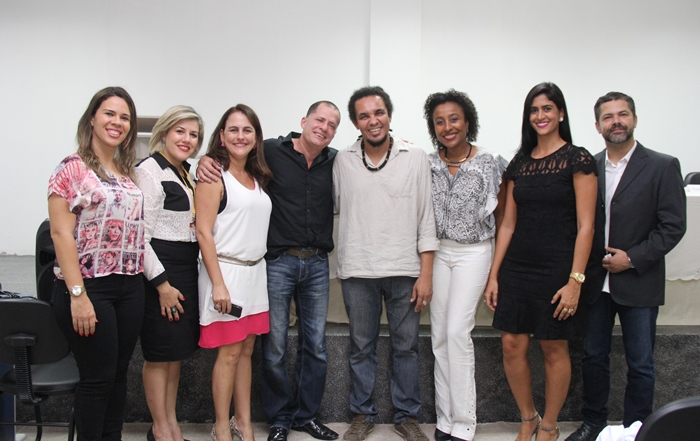 Diretores, professores e coordenadores dos cursos | Foto: Raimundo Mascarenhas
