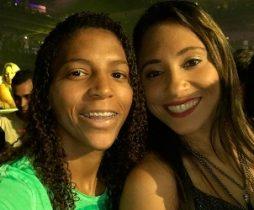 hamara administra a vida de Rafaela fora dos tatames para que a judoca se concentre nas adversárias
