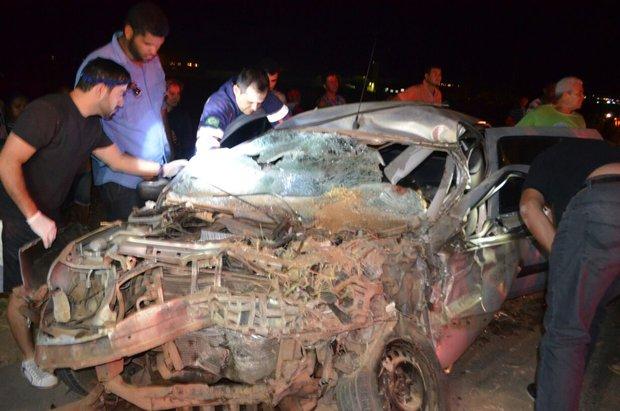 Veículo onde estavam as duas vítimas