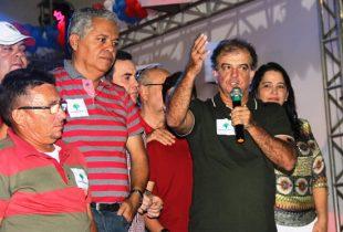 Vertinho afirmou que a chapa com Renato é forte e vai brigar para vencer   Foto: Raimundo Mascarenhas