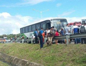 Tentativa de assalto aconteceu no ônibus