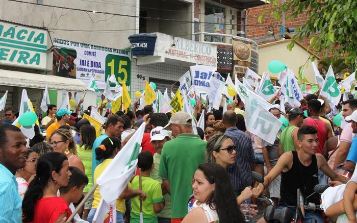 Comitê de Campanha de Jai e Dida | Foto: Raimundo Mascarenhas