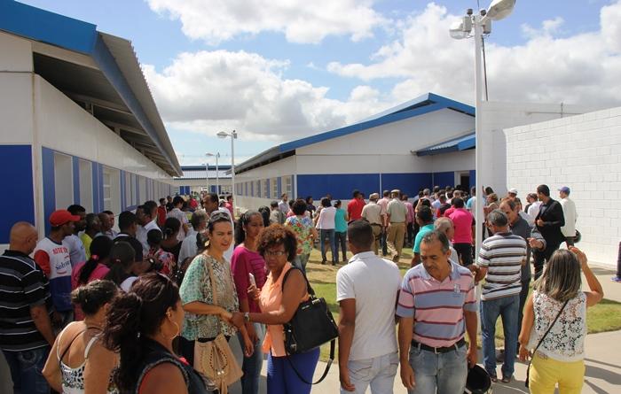 Grande público marcou presença e conheceu as instalações | Foto: Raimundo Mascarenhas