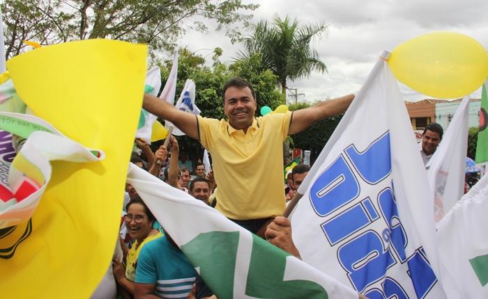 Jai encabeça a coligação Barrocas Livre a mesma que seu irmão Edilson defendeu em 2000 | Foto: Raimundo Mascarenhas