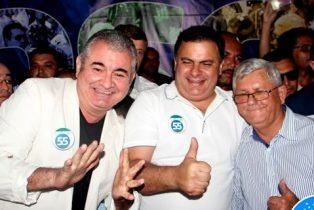 """Deputados Ângelo Coronel e João Bacelar reafirmam o apoio ao """"Queridinho"""""""