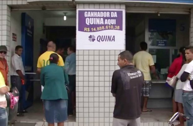 "Casa Lotérica ""Pé Quente"" de Casa Nova"