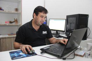 Marcelo disse que tem muito procura, mas está preparado para atender com pontualidade na entrega