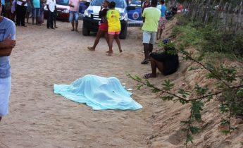 Vítima estava na companhia de 'Pão Inchado' que segundo a Policia tem passagem pela delegacia por envolvimento com droga