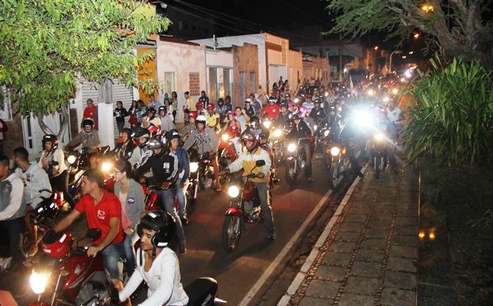 Rua Padre Madureira recebeu grade movimentação, por ser principal ligação do Bairro Mariquinha de Dodô ao centro da cidade | Foto: Raimundo Mascarenhas