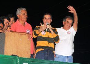 Tom disse que os adversários mentem ao informar que Vertinho e Renato não serão candidatos | Foto: Raimundo Mascarenhas