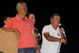 Vertinho está na sua terceira campanha e ainda não conhece derrota sendo candidato | Foto: Raimundo Mascarenhas