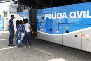 Exposição de segurança nas escolas Na foto: Foto: Alberto Coutinho/GOVBA