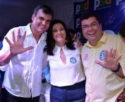 Junior do Max apresenta a chapa majoritária que será apoiada pelo seu grupo | Foto: Noticias de Santaluz
