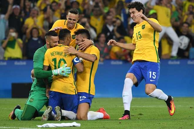 a66810f280 Seleção Brasileira conquista o primeiro ouro olímpico