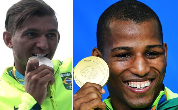 Isaquias e Robson garantiram medalhas históricas para o esporte do Brasil