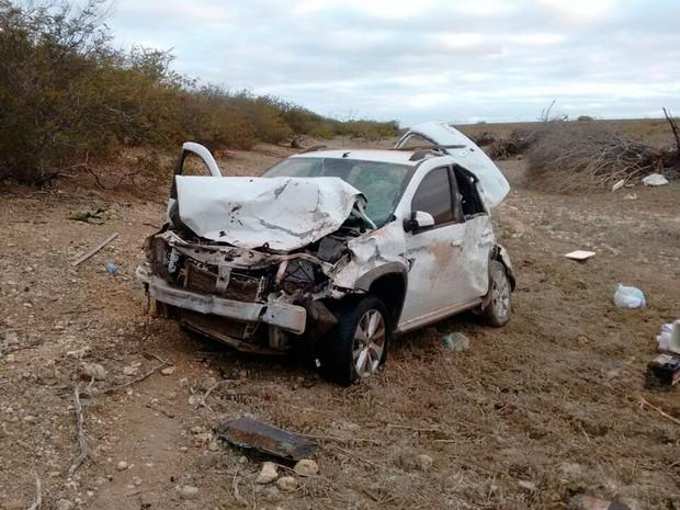 Acidente ocorreu na zona rural do município de Juazeiro, na Bahia