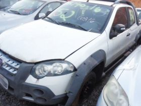 Fiat Strada Adveture, ano 2011/12, com lance inicial de R$ 3.700
