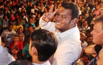 Paulinho eleito em 2012 vice de Ranulfo, nesta eleição encabeçou a chapa vitoriosa