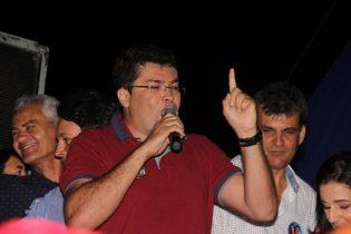 Márcio condenou a atitude dos adversários que segundo ele vem impedindo a manifestação popular de apoio a Quitéria
