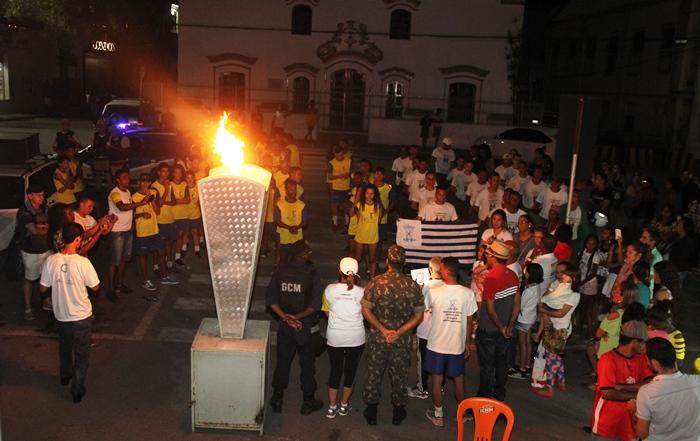 Atletas orgulhosos por terem cumprido a missão de amor a pátria   Foto: Raimundo Mascarenhas