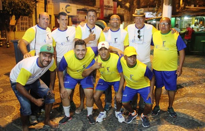 Parte da equipe de coordenação do Fogo de Coité   Foto: Raimundo Mascarenhas
