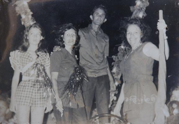 Campanha de Hamilton Rios em 1972 | Foto: Silvestre Sampaio (pai de Raimundo Mascarenhas)