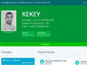 Candidato foi preso durante operação da Polícia Civil