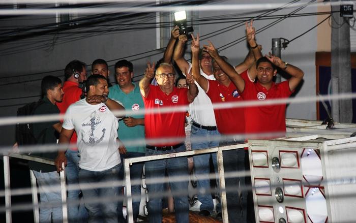 A cor vermelha está sendo resgatada pelo grupo liderado por Hamilton Rios