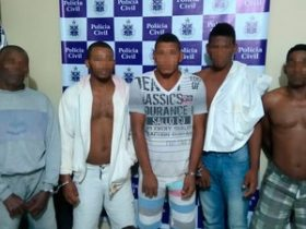 Suspeitos foram encaminhados para presídio da  região de Valença
