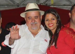 André disputou a eleição em 2012 mas não conseguiu êxito. Bárbara também tentou em 2012. Se uniram e agora é só comemorar