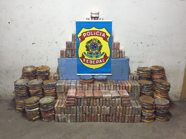 Esta é a maior apreensão da droga já feita pela Polícia Federal no Estado da Bahia.