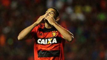 Diego Souza fez o gol da vitória do Leão da Ilha